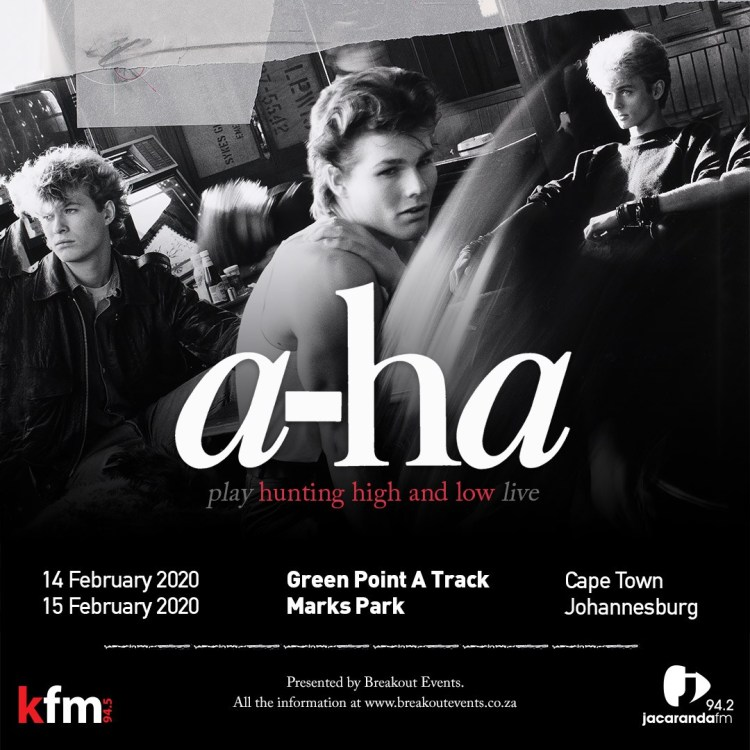 Aha South African Tour PopSpeaking